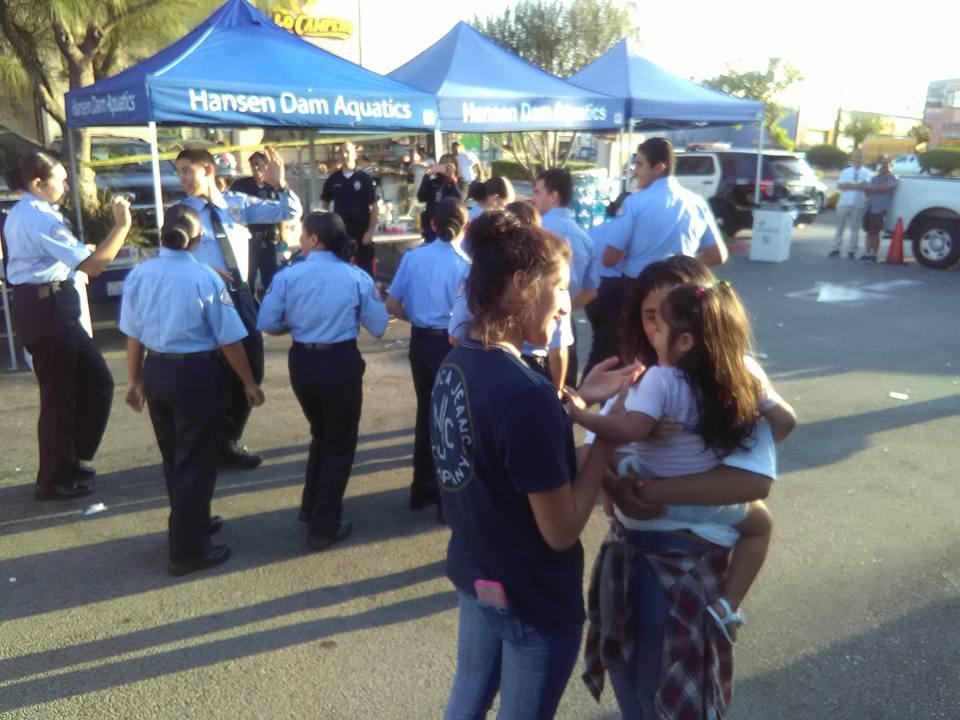 LAPD Cadettes