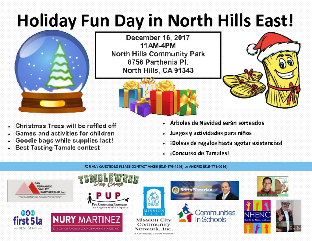 thumbnail of Holiday Fun Day in North Hills East!
