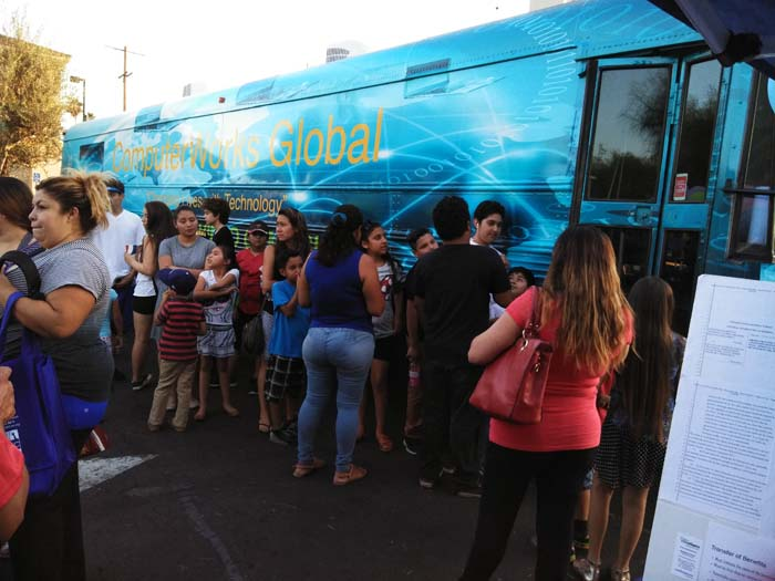 National Night Out Fun Bus