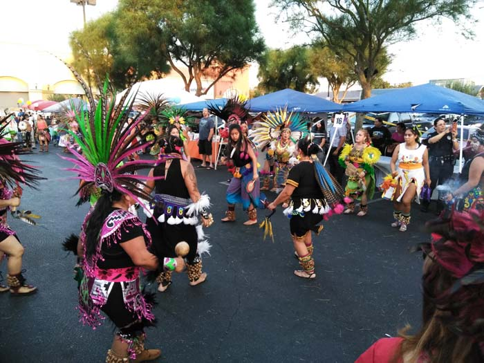 Dancers at National Night Out