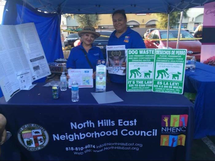 North Hills East Table at National Night Out