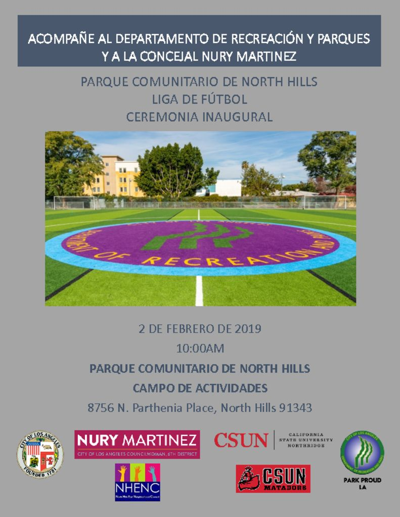 thumbnail of N Hills Park Grand Opening