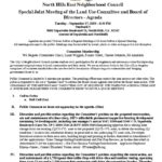 thumbnail of Special Land Use Mtg Joint Agenda September 2019 corrected