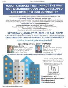 thumbnail of Flyer 1.25.2020 Land Use Town Hall (1)