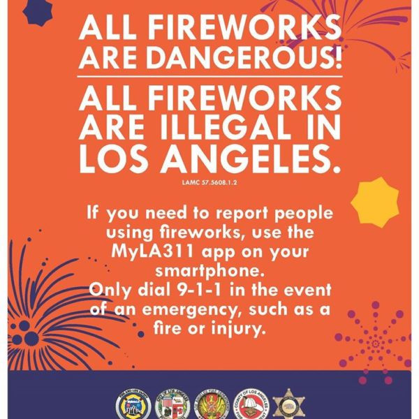 Fireworks are dangerous