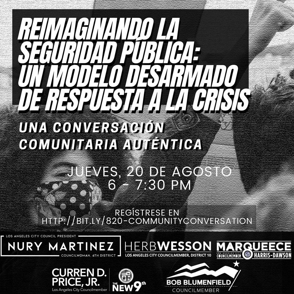 Public Safety Conversation Spanish