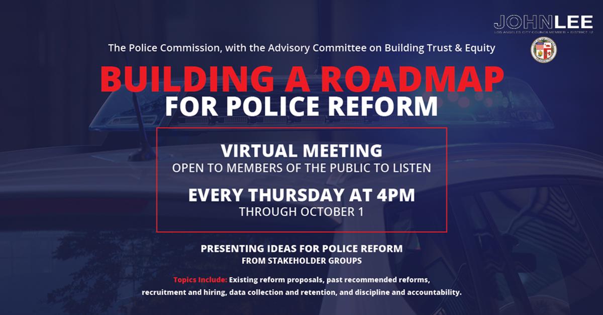 police reform thursdays