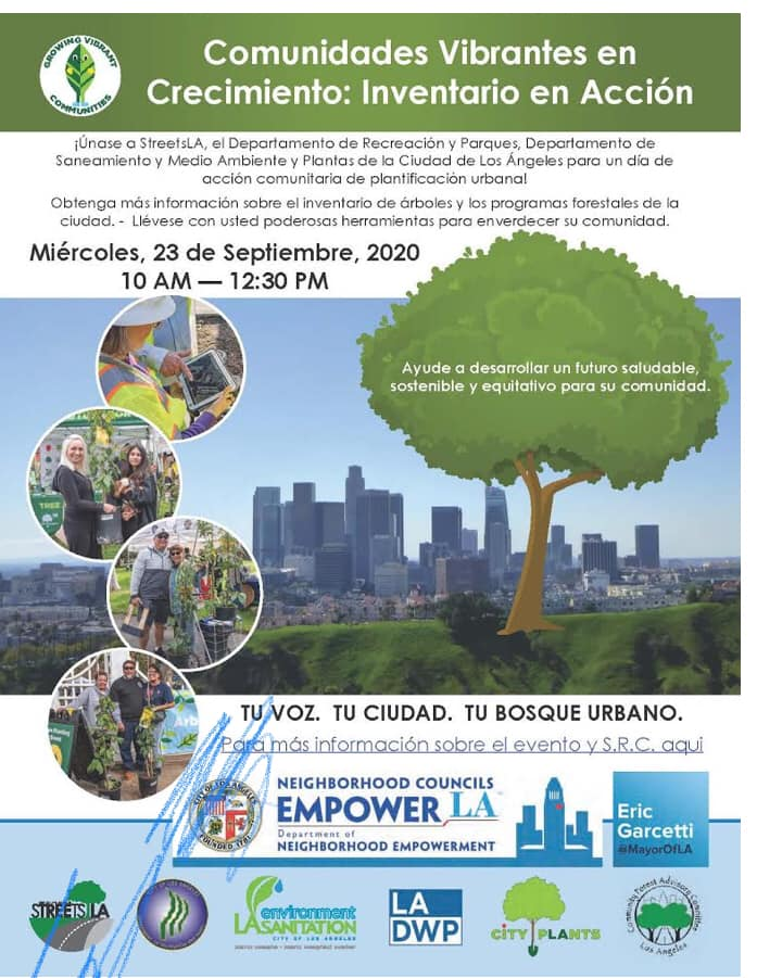 urban forestry spanish