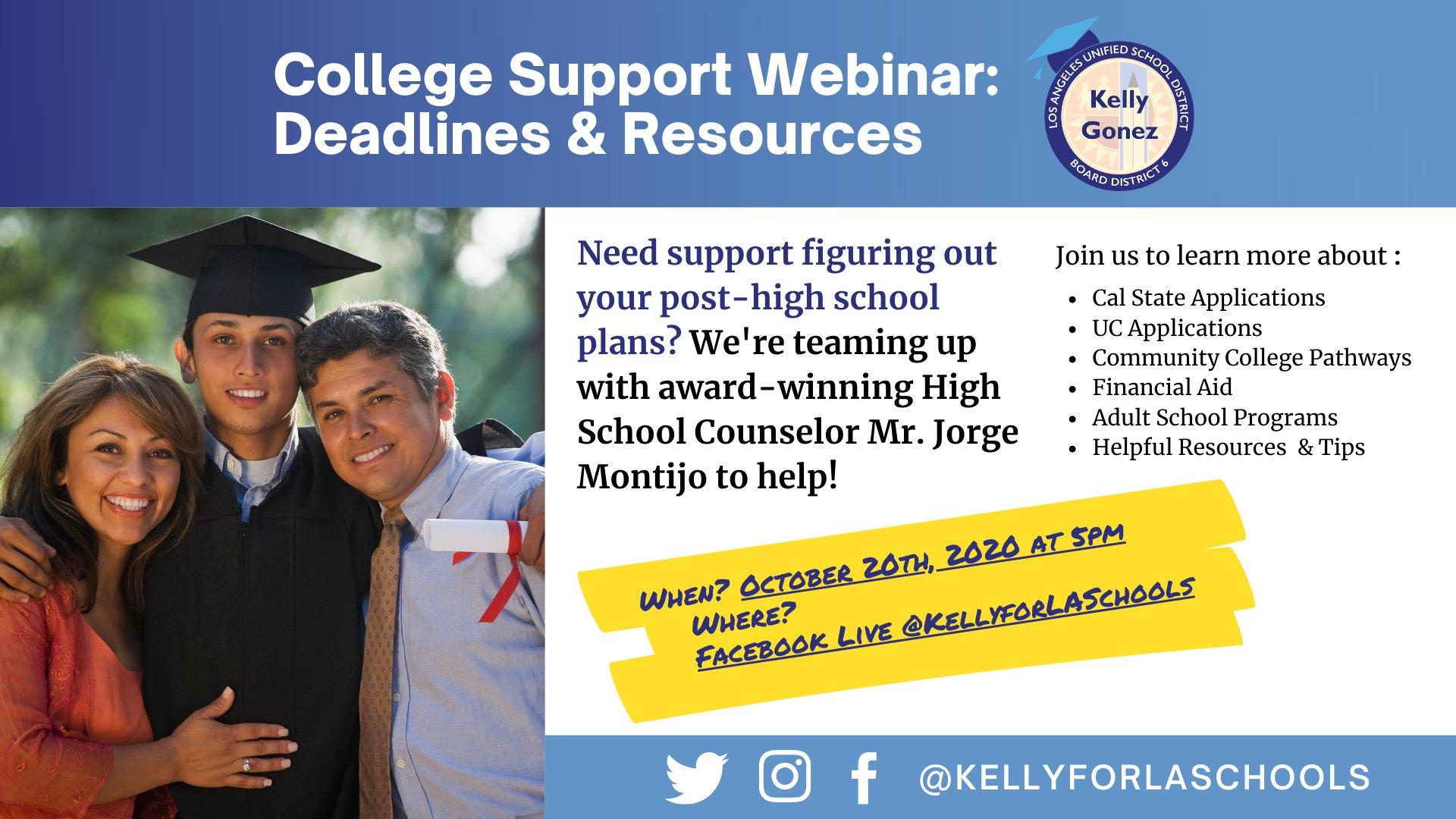 College Support Webinar