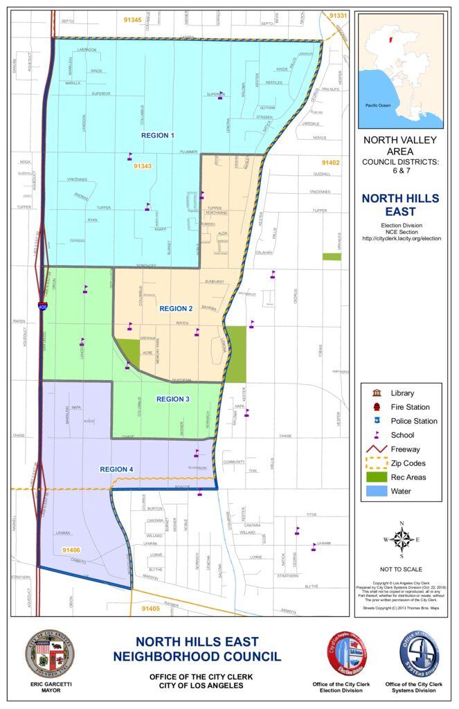 thumbnail of NC – North Hills East Map