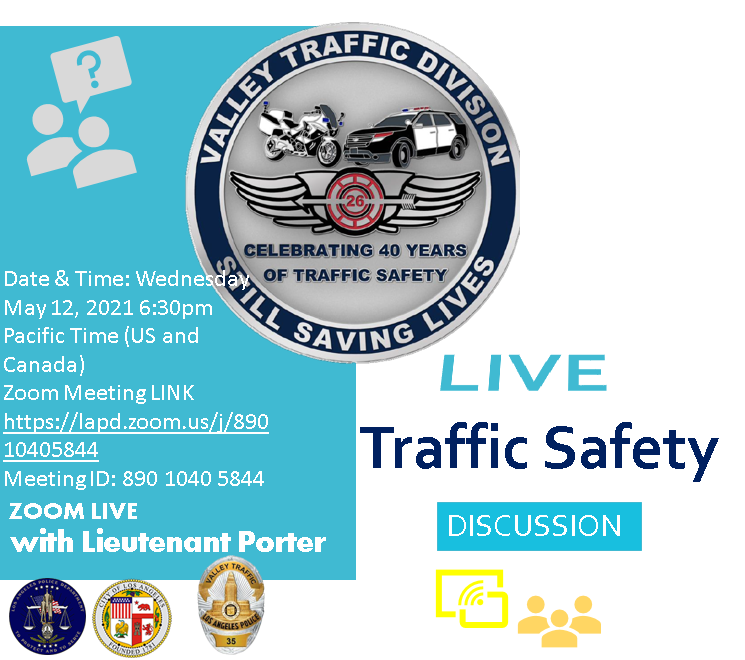 LAPD Valley Traffic Safety Meeting