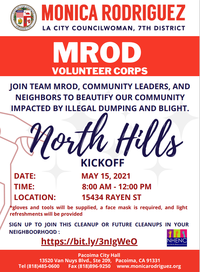 volunteer corps kick off