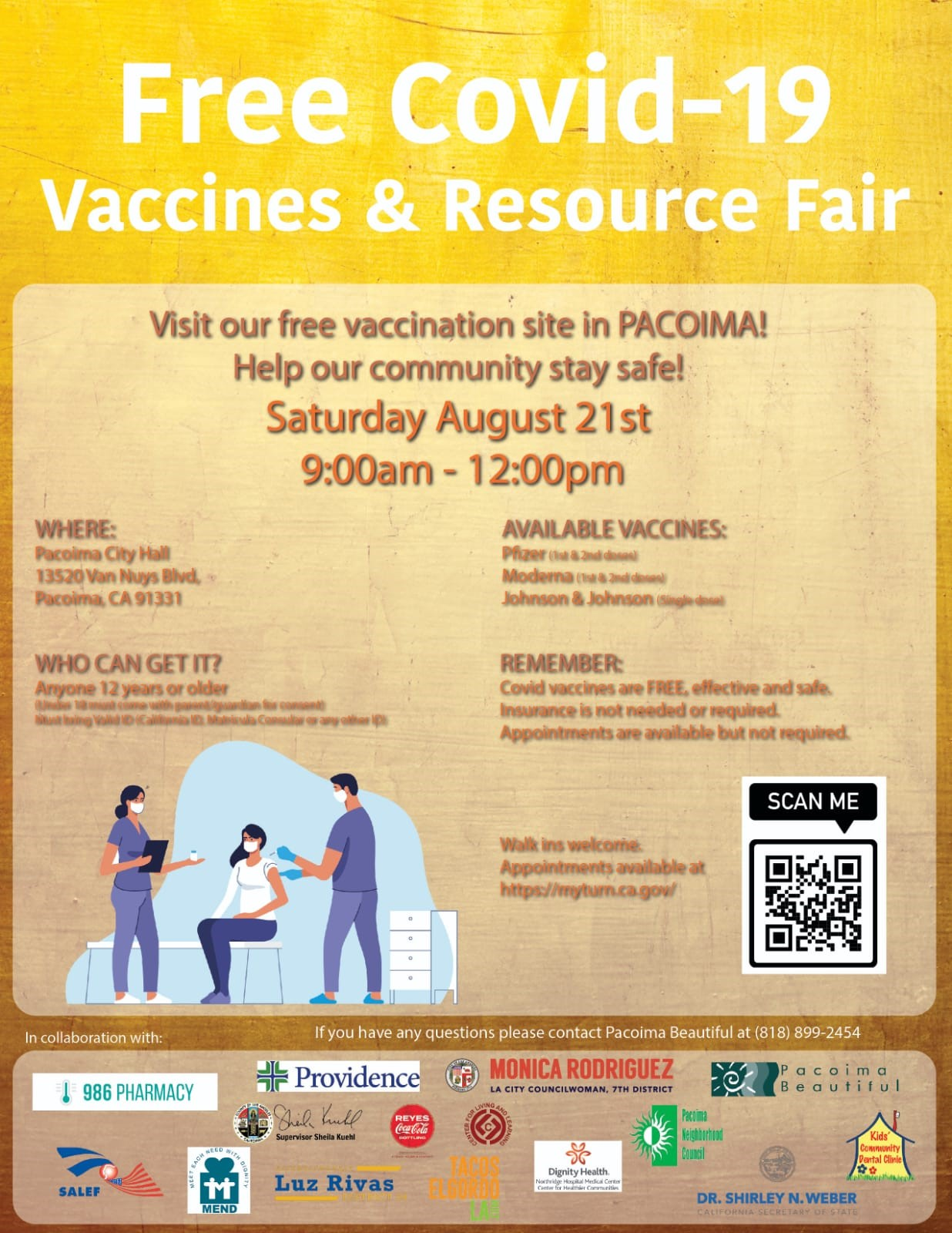 Vaccine & Resource Fair