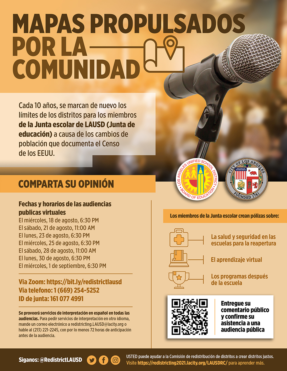 Public Hearings Spanish
