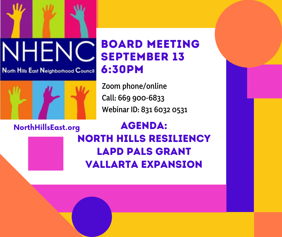 NHENC Meeting Announcement Sep