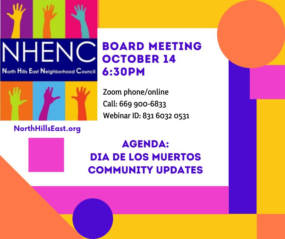 Board Agenda